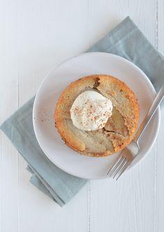 havermouttaartje - oatmeal upside down cake