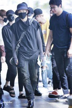 [AIRPORT] 160827: BTS Rap Monster (Kim Namjoon) #bts #bangtan #bangtanboys…