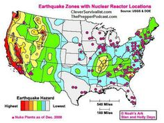 Are YOU Close to a Nuclear Reactor??? and How to React in a Nuclear Disaster