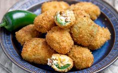 These poppers are the perfect mix of crunchy and creamy consistencies, together with the heat of the jalapeño and the complimentary cooling of the vegan cream cheese.