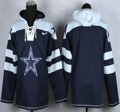 Nike Dallas Cowboys Blank 2014 Blue Hoody