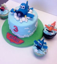 Disney Planes Cake