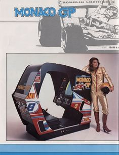 vintage everyday: 21 Sexy Arcade Game Ads from the 1970s and 1980s
