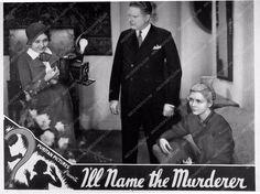 ad slick I'll Name the Murderer 2347-11