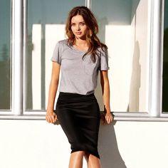Black Pencil Skirt by H&M - $25