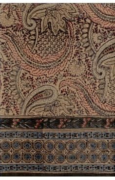 Ancient Tapestry .. Paisley.. Fractal Field.. Grape Vines