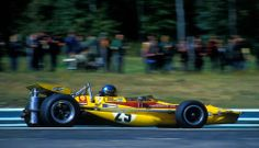 Ronnie at Watkins Glen Grand Prix 1970, March 701 Ford