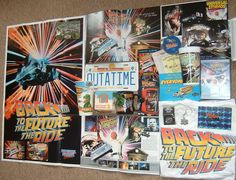 Back to the Future The Ride merchandise