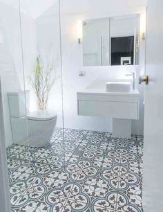 encaustic bathroom tile ideas - Google Search