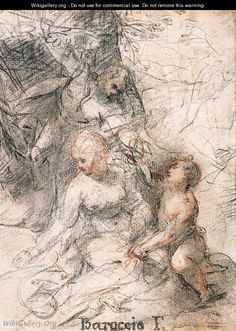 Federico Barocci, The Rest on the Flight into Egypt 2  on ArtStack #federico-barocci #art