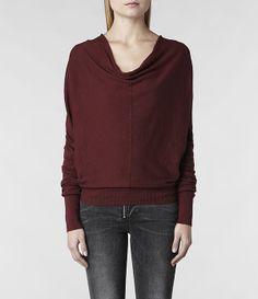 AllSaints Elgar Cowl Neck | Womens Sweaters