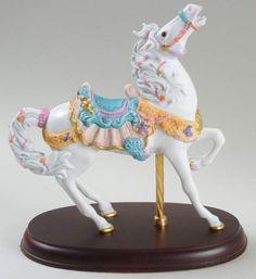 Lenox CAROUSEL ANIMALS FIGURINE 1993 Seaside Horse 939657