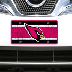 Arizona Cardinals Vintage Acrylic Cut License Plate - $23.99