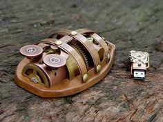 Rhombus Maximus - Wireless Steampunk Mouse