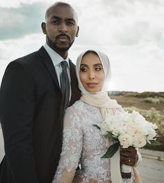 Omxnia Muslim Brides, Muslim Couples, Muslim Women, Black Marriage, Marriage And Family, Islam Marriage, Marriage Life, Interracial Wedding, Interracial Couples