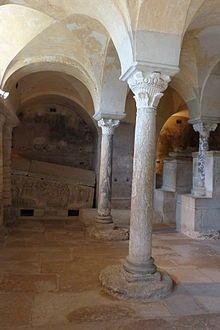 Eglise abbatiale de Jouarre - Abbaye Notre-Dame de Jouarre. Brie