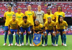 Seleção Brasileira de Futebol, Brasil, Brazil, jogadoras, futebol, Seleção Brasileira, Marta, Renata Costa, Francielle, Cristiane