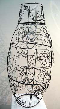 Artist: Diane Komater, Flower Urn,