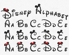 Mickey Mouse font yes it actually worked