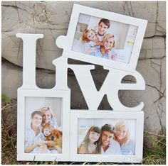 Love and Live Choose One Wooden Photo Frame White Base DIY Picture Frame Art Decor 3 Boxes Handmade Irregular Family Photo Frame Wall Hanging Photo Frames, Hanging Photos, Picture Frame Art, Wooden Picture Frames, Marco Diy, Art Decor, Decoration, Cheap Frames, Family Photo Frames