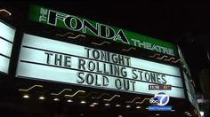 The Rolling Stones 90028 Fonda Theater Hollywood May 20, 2015 The Rolling Stones Secret STICKY FINGERS Concert, Fonda Theater, Los Angeles, CA Setlist 5/20/15: 1. Start Me Up 2. When The Whip Comes Down 3. All Down The Line 4. Sway 5. Dead Flowers 6. Wild Horses 7. Sister Morphine 8. You Gotta Move 9. Bitch 10. Can't You Hear Me Knockin' 11. I Got The Blues 12. Moonlight Mile 13. Brown Sugar Encore: 14. Rock Me Baby 15. Jumpin' Jack Flash