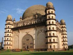 "Amazing Architecture: Gol Gombadh meaning ""rose dome"", is the mausoleum of Mohammed Adil Shah, Sultan of Bijapur. The tomb was completed in 1656 by the architect Yaqut of Dabul. Although ""impressively simple in design"", it is the ""structural triumph of Deccan architecture""."