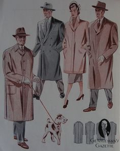 The Cut of Jackets in Germany 1951