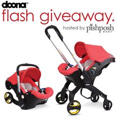 We're giving away a Doona Infant Car Seat to one lucky winner! The Doona Car Seat is a total game changer, and is the perfect piece of baby gear for urban moms and dads! What is the Doona? It's a r...