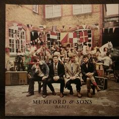 """Mumford and Sons Mumford & Sons has released one song, """"I Will Wait,"""" from their much anticipated new album Babel. If it is any indicator of how the rest of the album will sound, Babel is going to far exceed the success of """"Sigh No More. Mumford And Sons, Marcus Mumford, Arcade Fire, Justin Timberlake, Justin Bieber, Lps, Lp Vinyl, Vinyl Records, Vinyl Music"""