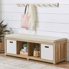 Entryway Bench Storage, Entryway Decor, Entryway Furniture, Cheap Furniture, Weathered Furniture, Tiny Furniture, Storage Benches, Furniture Stores, Wooden Furniture