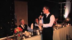 BEST Best Man Toast To Younger Brother!