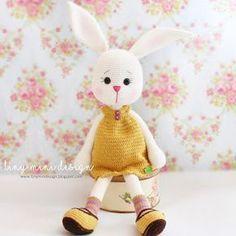 Amigurumi Tavşan Dotty- Amigurumi Bunny Dotty