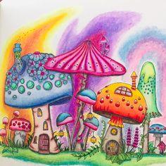 Colouring Pages, Free Coloring, Adult Coloring, Coloring Books, Colouring Pencils, Johanna Basford Books, Johanna Basford Coloring Book, Coloring Tutorial, Mandala Drawing