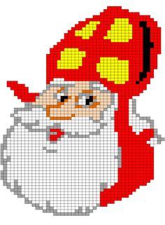 Strijkkralen Sinterklaas