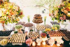 mesa de doces: brigadeiro gourmet
