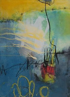 Abstrakte Malerei von Iris Rickart / Unikatbild 324