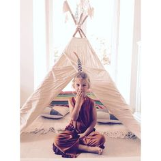N74 Teepee | Natural | Photo taken by @lisettemadeincannes on Instagram