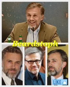 beardstoph-whoever made this thank you Christoph Waltz, Love Him, Ted, Feelings, Words, Fictional Characters, Instagram, Heart, Beauty