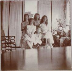 Последнее поколение царской семьи.