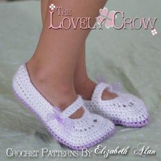 TheLovelyCrow: Toddler Crochet Mary Janes Pattern Up Next!! Here's your chance to get them FREE!