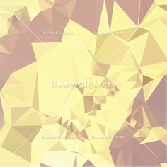 Arylide Yellow Abstract Low Polygon Background Vector Stock Illustration. 3d, abstract, arylide yellow, background, faceted, geometric, low poly, low polygon, mosaic, origami, peach, pixellation, polygonal, polyhedron, triangle, triangulation, yellow. #LowPolygon  #ArylideYellowAbstract