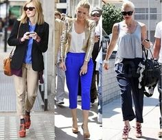 Latest Cropped Pants Fashion For Ladies 2017