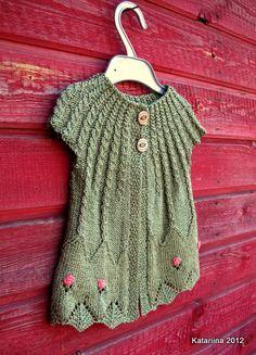 knitted cardigan for my girl  Kootud vest või kardigan väikesele tüdrukule.