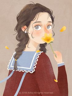 Illustration Art Artwork Girls Artists New Ideas Art And Illustration, Texture Illustration, Character Illustration, Illustration Pictures, Illustrations, Character Drawing, Character Design, Dibujos Cute, Digital Art Girl