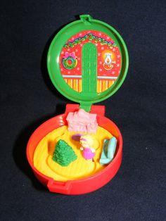 Polly Pocket locket Locket Polly Pocket by BobbysCollectibles