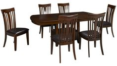 Jofran-Mirendela Birch-Mirendela Birch 7 Piece Dining Set - Jordan's Furniture