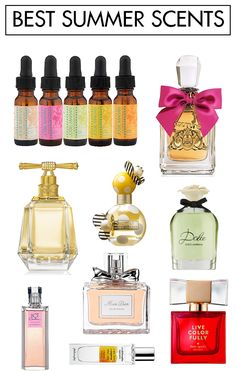 The Best Summer Scents!