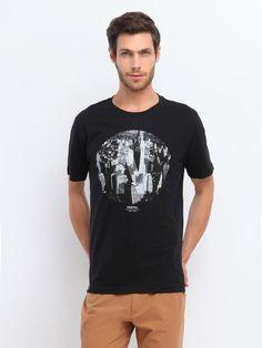 T- shit czarny  - t-shirt krótki rękaw - TOP SECRET. SPO1186 Świetna jakość, rewelacyjna cena, modny krój. Obejrzyj też inne t-shirty tej marki. Mens Tops, T Shirt, Fashion, Supreme T Shirt, Moda, Tee Shirt, Fashion Styles, Fashion Illustrations, Tee