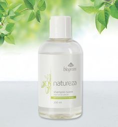 NATUREZA   CUIDAR LO QUE AMAMOS   Shampoo Suave - Biogreen Argentina