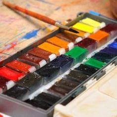 Акварельная техника в изобразительном искусстве - это способ живописи акварельными красками